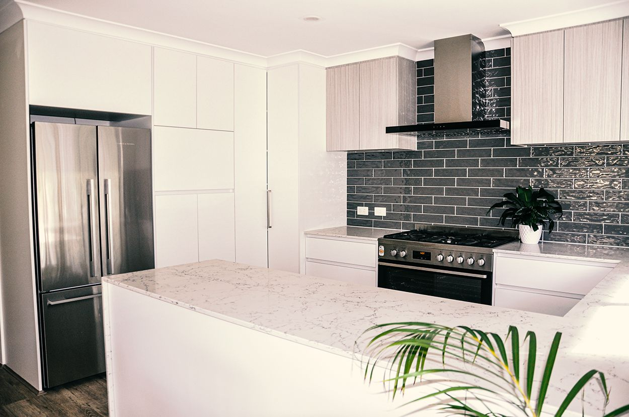 beautiful kitchen makeovers in Perth