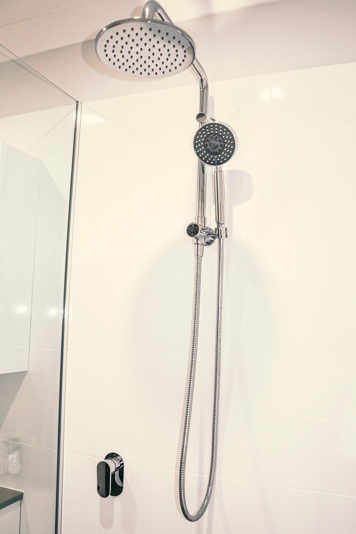 high quality shower rail in perth