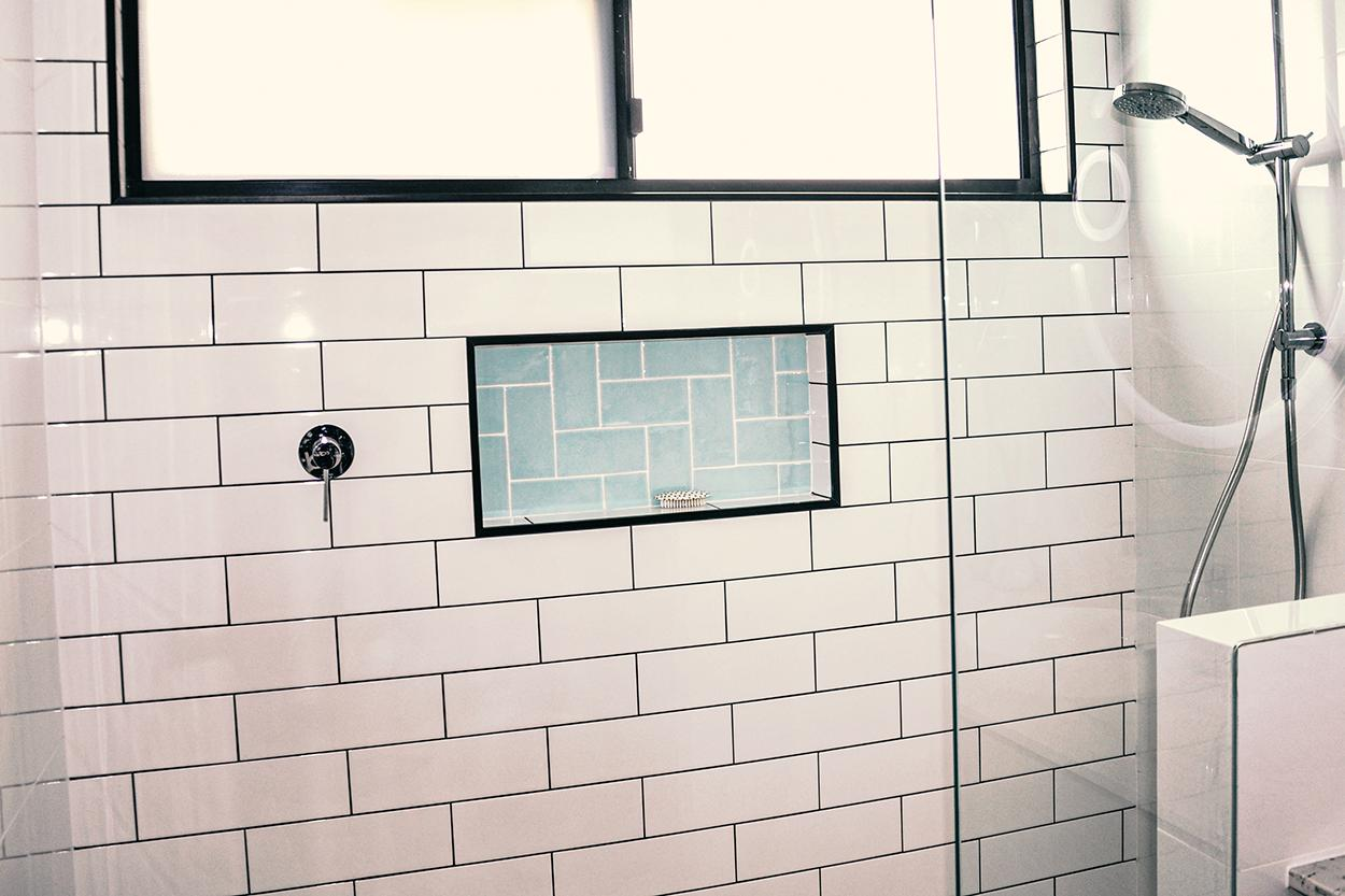 luxury shower renovations in perth